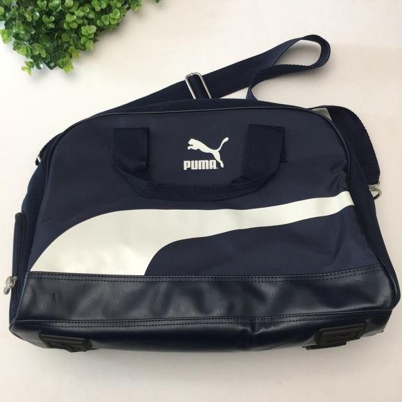 78a97a325cb2 Puma Heritage Retro Shoulder Bag Tote. M 5b3b7826c2e9fe1eb876d3ec